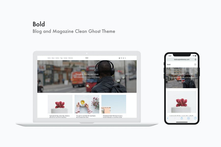 Download Ghost Templates - Envato Elements