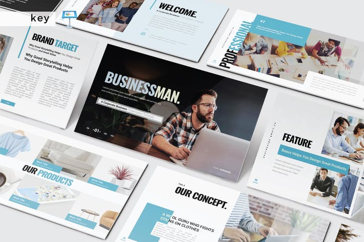 Thumbnail for BUSINESSMAN - Keynote V472