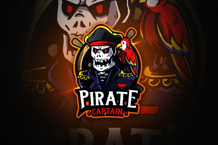Thumbnail for Pirate Captain - Macsot & EsportLogo