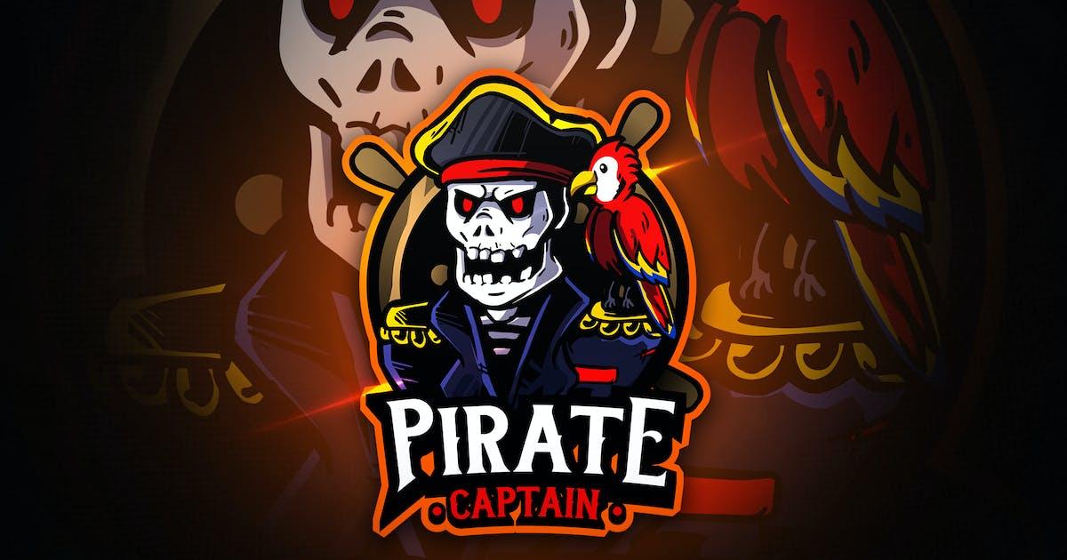 Download Pirate Captain - Macsot & EsportLogo by aqrstudio