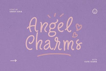 Angel Charms - Cute Font