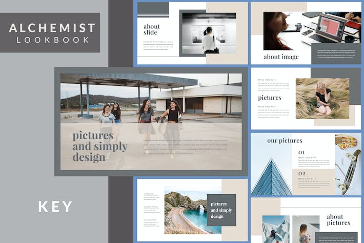 Thumbnail for Alchemist Lookbook - Keynote Template