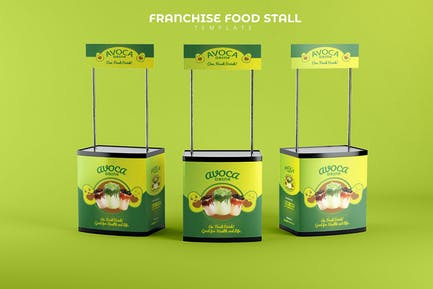 Franchise Food Stand Booth