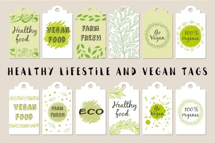 Thumbnail for Gesunder Lebensstil und vegane Tags