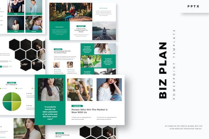 Thumbnail for Biz Plan - Powerpoint Template