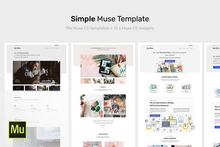 Simple - Plantilla de Muse Porfolio Creativo