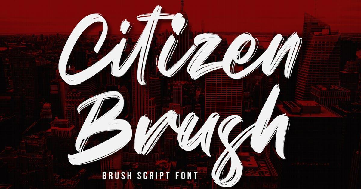 Download Citizen Brush by NissaStudio