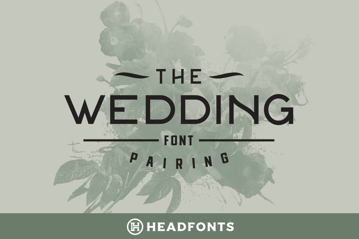 Cover Image For Wedding Font Pairing