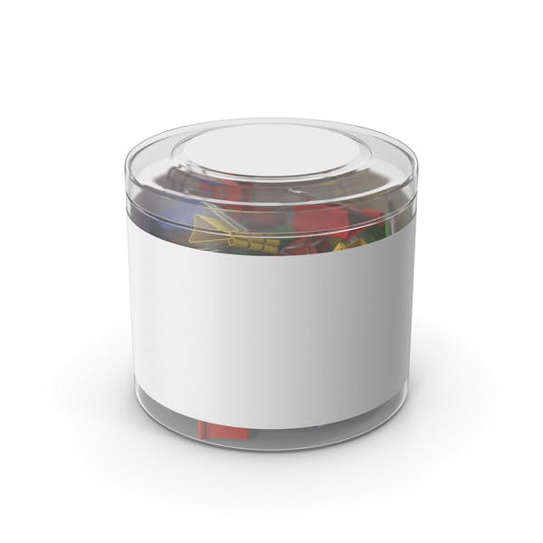 Binder Clip Plastic Cup