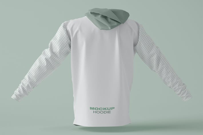 Thumbnail for Hoodie Mockup. Change colors, designs and backgrou