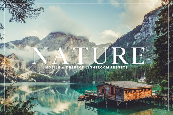 Thumbnail for Nature Lightroom Presets Collection
