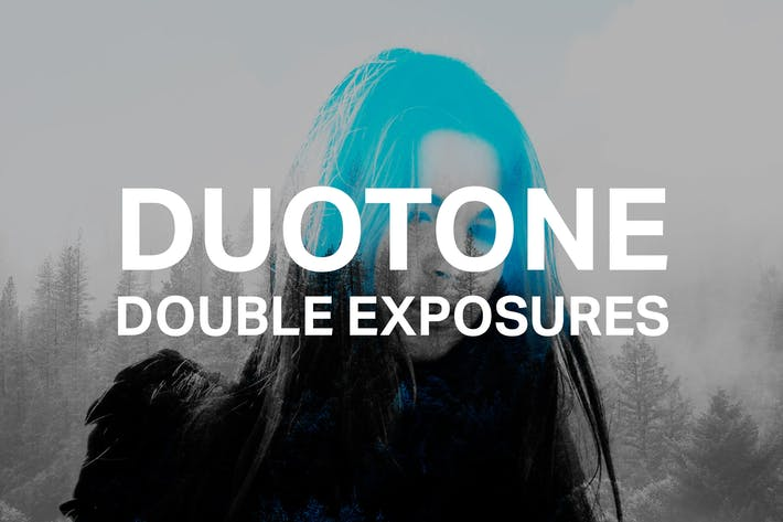 Cover Image For Duotone Double Exposures