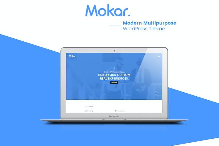 Cover Image For Mokar - Modern Multipurpose WordPress Theme