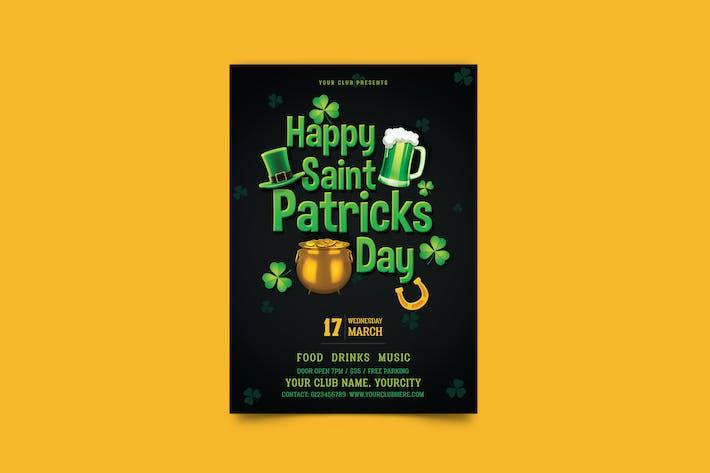 dépliant ant de la Saint-Patrick