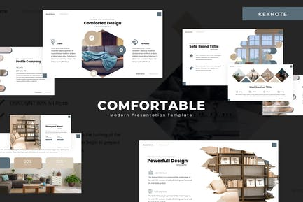 The Comfortable - Keynote Template