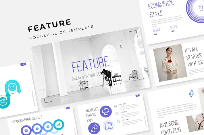 Cover Image For Feature - Google Slide Template
