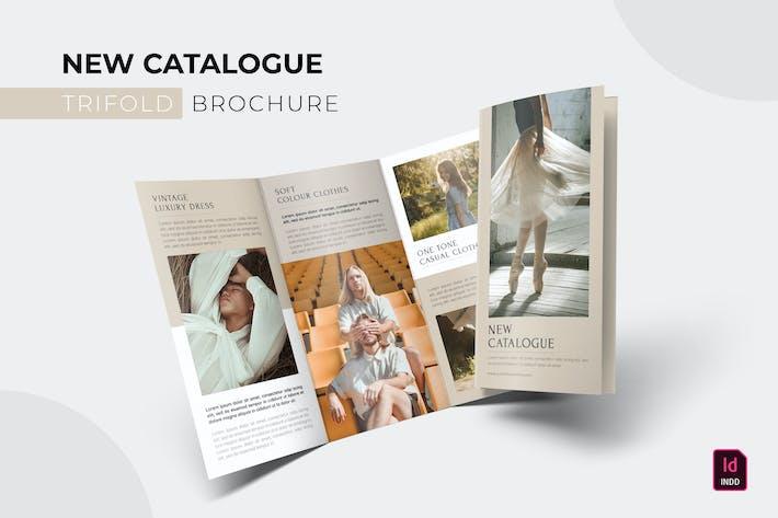 Thumbnail for Nouveau catalogue   Brochure à trois volets