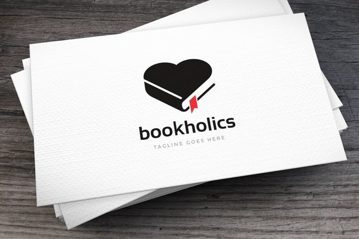 Thumbnail for Bookholics Logovorlage