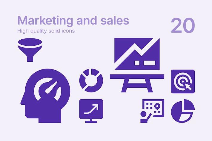 Marketing #2 Icons