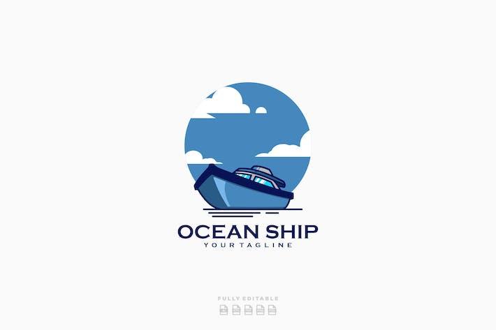 Thumbnail for Ocean Ship Logo Template