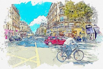 Urban Sketch Photoshop Action