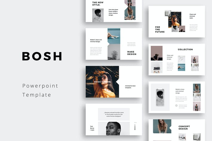 Thumbnail for BOSH - Powerpoint Template