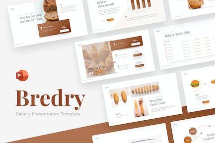 Bredry Bakery Food PowerPoint Template