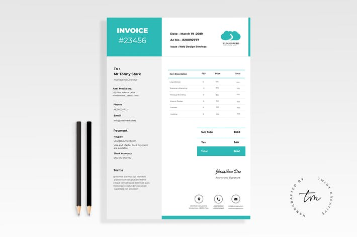 download 180 invoice templates envato elements