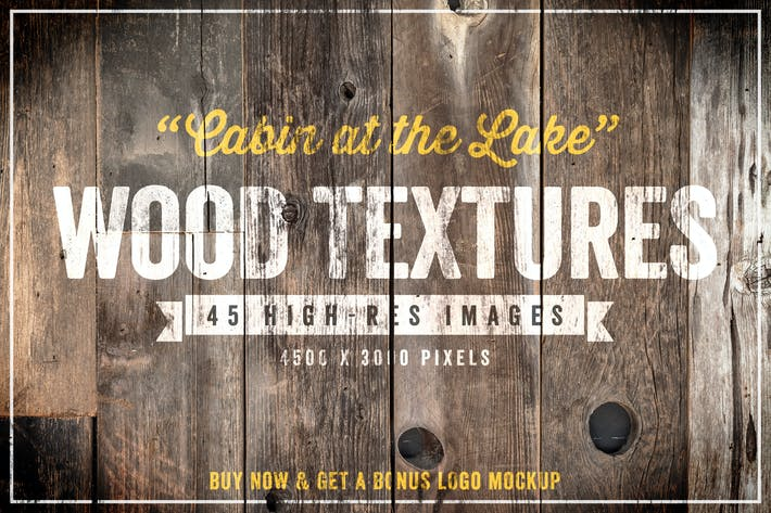 Thumbnail for Cabin at the Lake Wood Textures