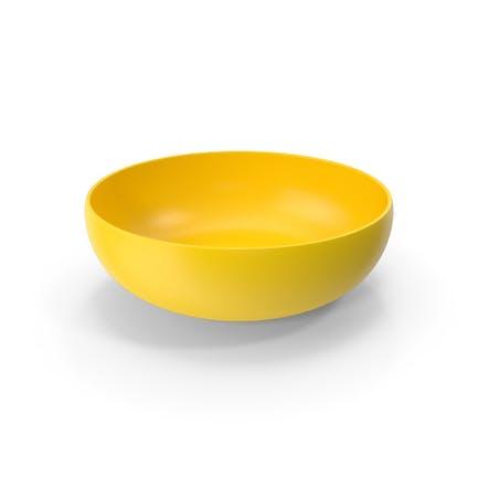Gelbe Schüssel
