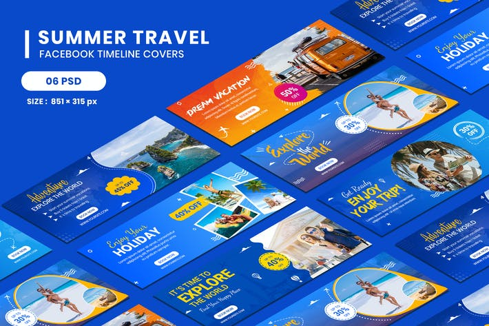 Thumbnail for Travel Facebook Timeline Covers
