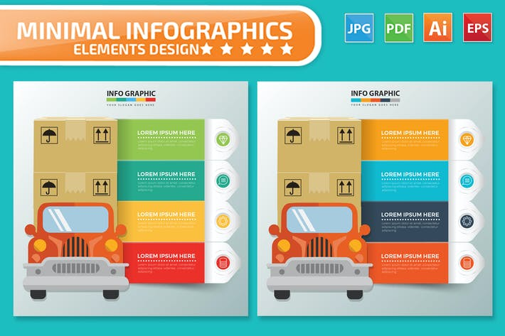 Thumbnail for Инфографика доставки и грузов