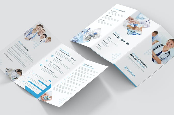 Thumbnail for Brochure – Hospital Tri-Fold