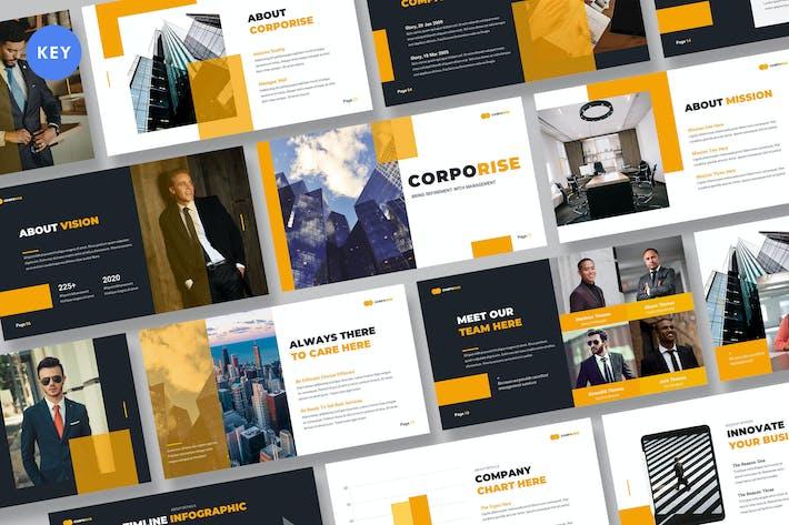 Corporise - Business Keynote