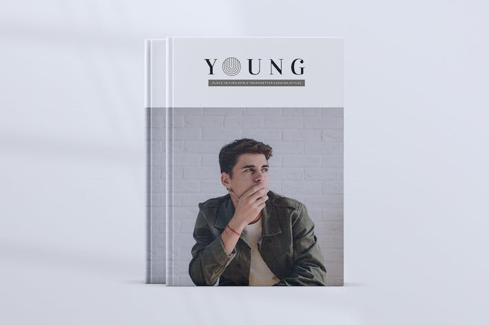 Thumbnail for YOUNG / Minimal Lookbook Styles