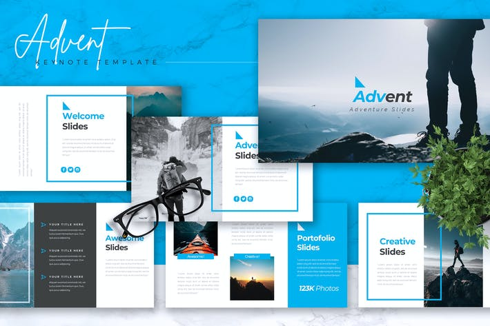 Thumbnail for ADVENT - Adventure Keynote Template