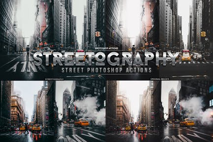 Streetography Photoshop Actions