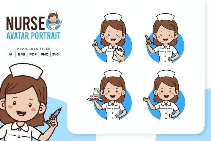 Nurse - Avatar Portrait