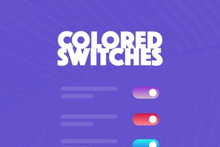 1000 Colored Switches