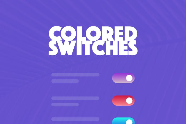Cover Image For 1000 Colored Switches