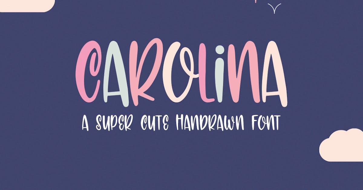 Download Carolina Font by maroonbaboon