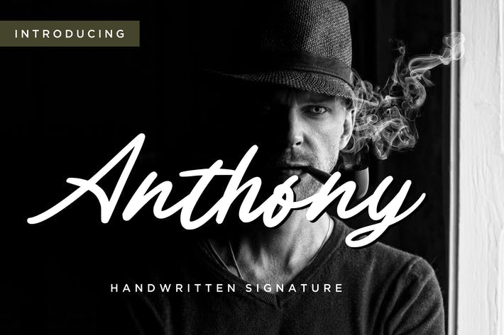 Thumbnail for Firma manuscrita de Anthony.