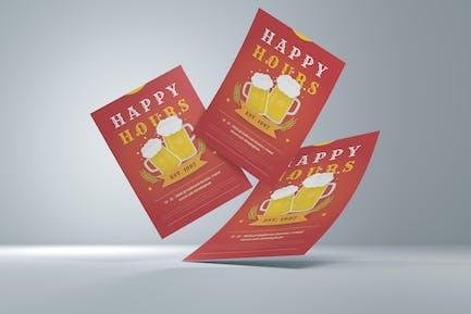 Happy Hours Flyer