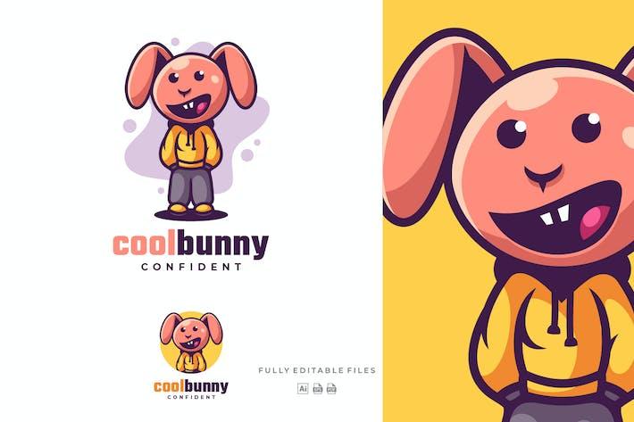 Thumbnail for Cool Bunny Cartoon Character Logo