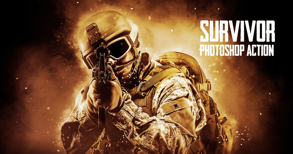 Download Survivor Photoshop Action by Hemalaya1