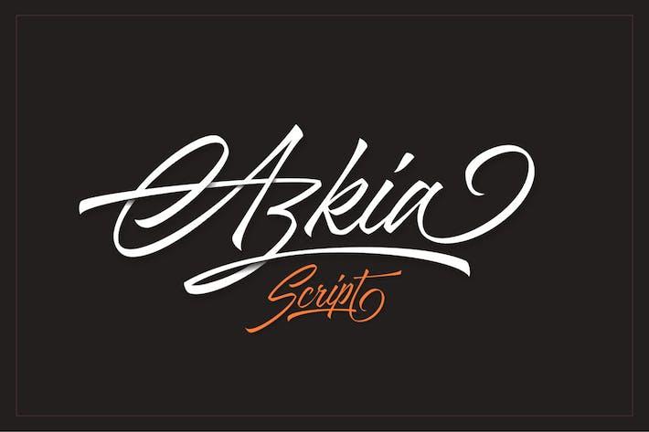 Thumbnail for Azkia Script Font