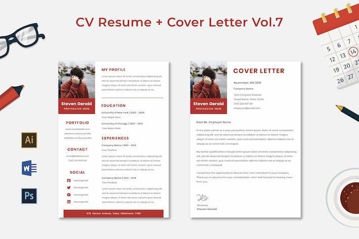 Thumbnail for CV Resume Vol.7