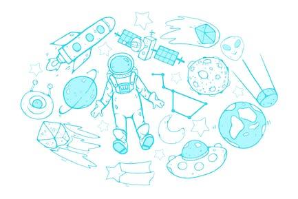 Kosmische Doodles