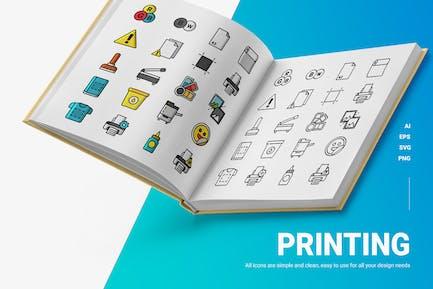 Printing - Icons