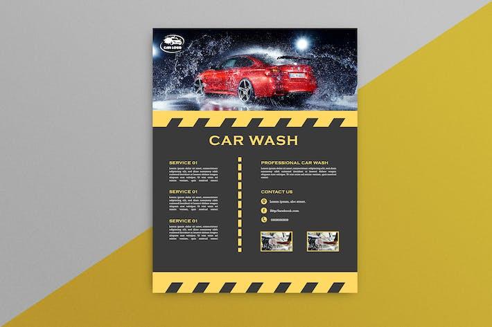 Thumbnail for Car Wash Flyer 5
